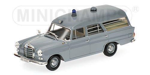 MINICHAMPS 400 037270 - Mercedes 190 1961 Ambulance